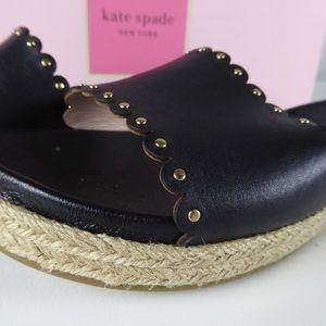 Kate Spade NY Zeena Studded Espadrille Sandals NIB